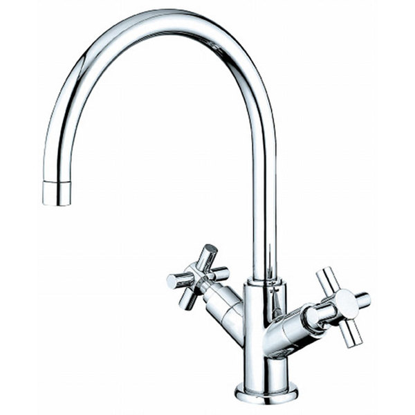 Concord Vessel Chrome Bathroom Faucet (As Is Item) - Chrome / 9.5 x 12.5 x 5.5