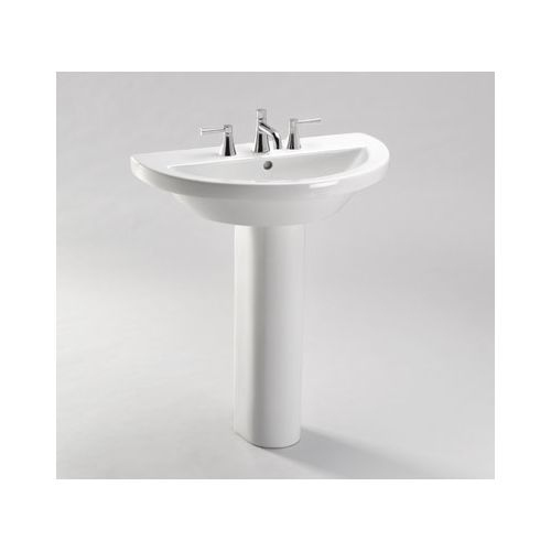 Toto PT325 Lavatory Pedestal Only for the LT325G Series Basins from the Augusta Decorative Collection