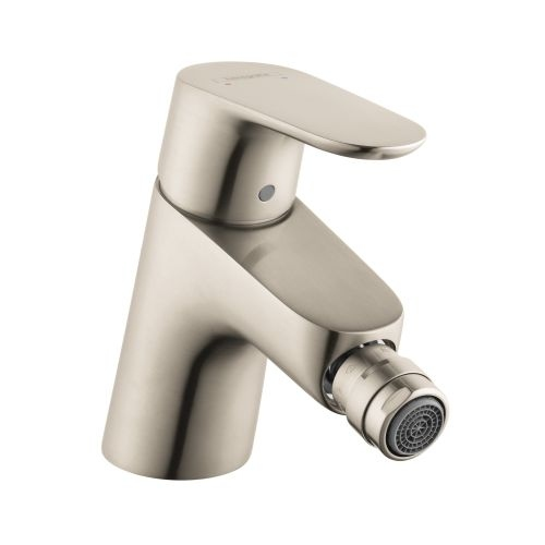 Hansgrohe 31920 Focus Bidet Faucet with Pop Up Drain Assembly - Chrome Finish