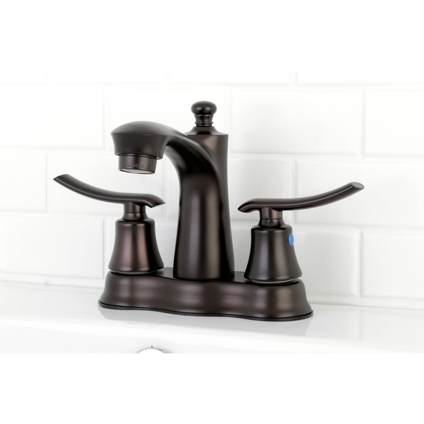 Euro Oil Rubbed Bronze 4-inch Center Bathroom Faucet - Oil Rubbed Bronze
