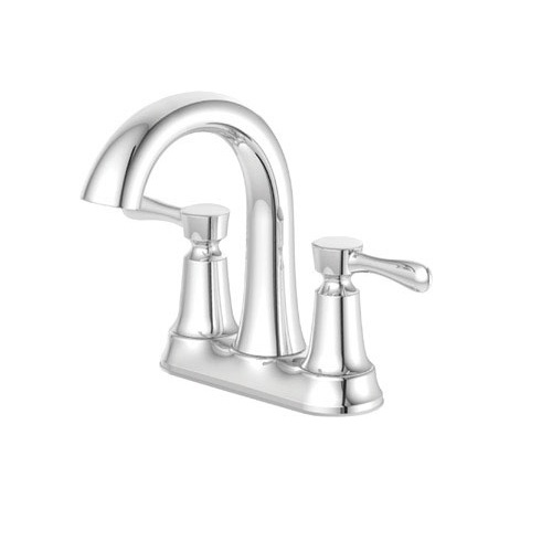 OakBrook F51B0035CP-ACA1 2 Handle Lavatory Faucet With Quick Connect Push On Pop-Up