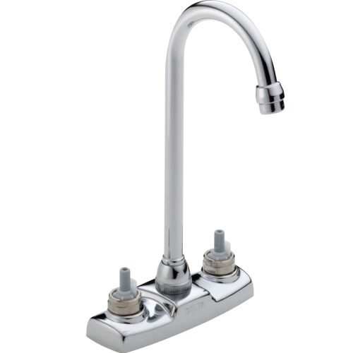 Delta 2172LF-LHP Classic Bar/Prep Faucet - Handles Sold Separately - Includes Lifetime Warranty