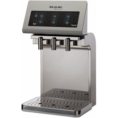 Elkay DSFB1UVK Fontemagna Bridge Countertop Water Dispenser with UV Purification System