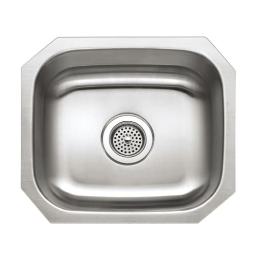 Proflo PFUC109 16' Single Basin Undermount Stainless Steel Kitchen Sink