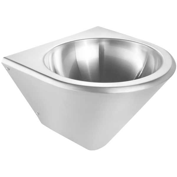 Whitehaus Collection Noah's Wash Basin - Single Basin - Stainless Steel - Center