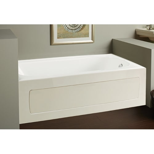 Mirabelle MIRBDW6032R Bradenton 60' X 32' Three-Wall Alcove Whirlpool Tub with Right Hand Drain